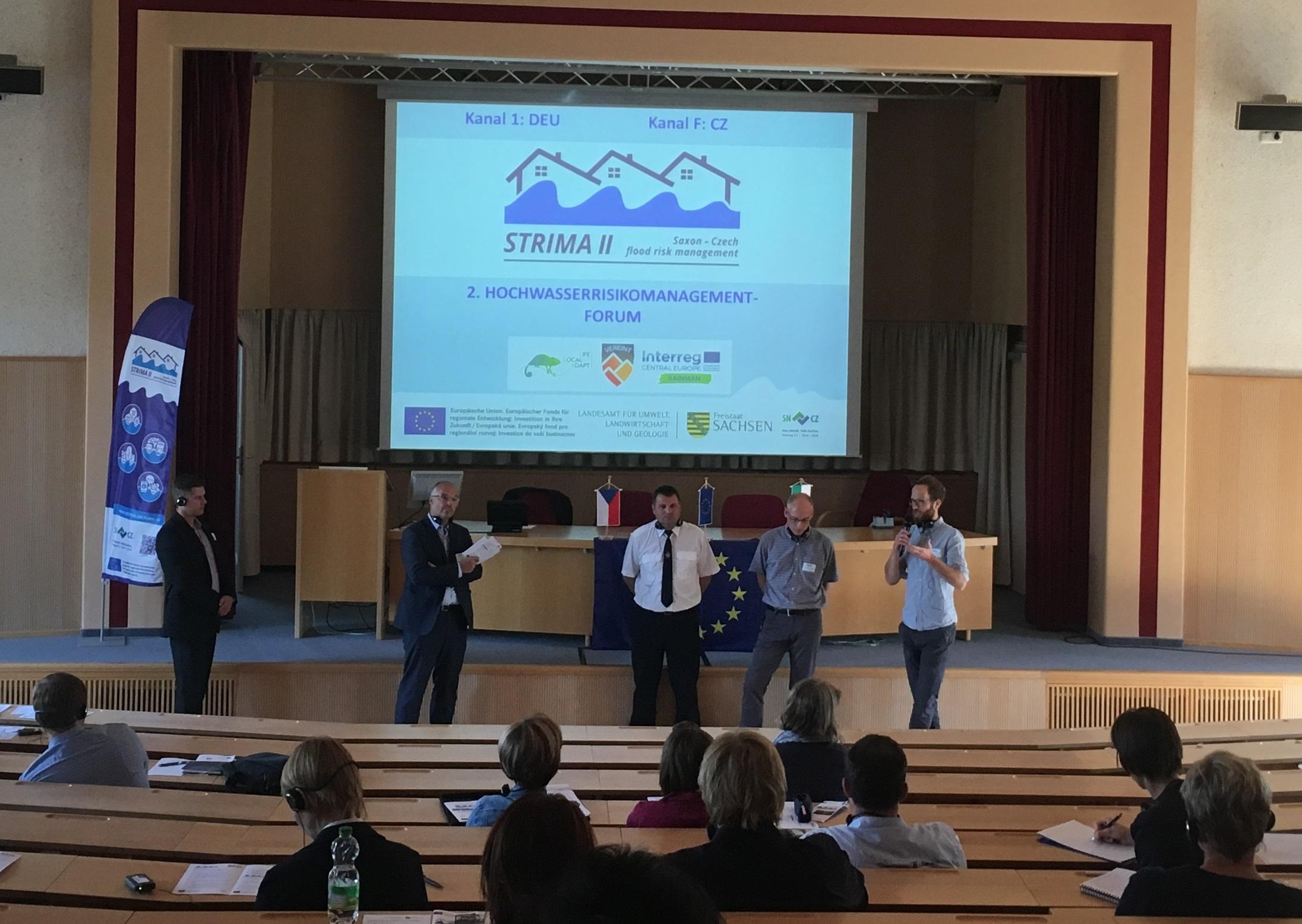 zweites Hochwasserrisikomanagement Forum 2018 in Pirna